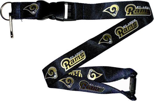 Aminco NFL St. Louis Rams Team Lanyard