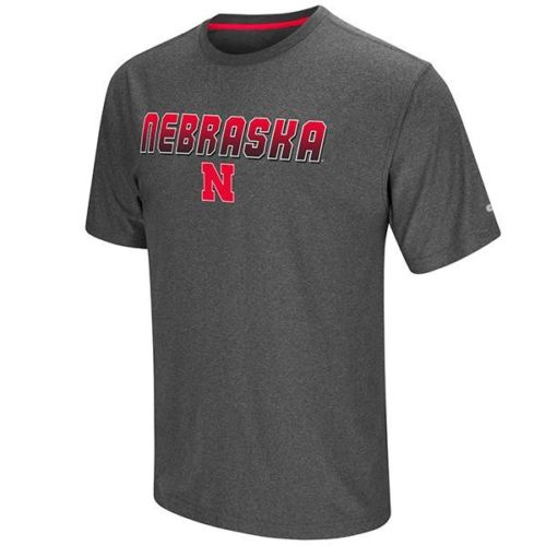 Colosseum NCAA Men's Nebraska Cornhuskers Sleeper T-Shirt