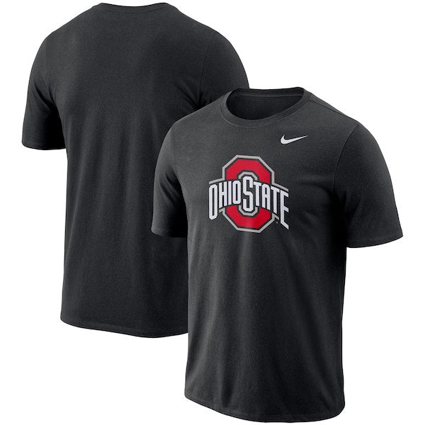Nike NCAA Men's Ohio State Buckeyes Performance Cotton School Logo T-Shirt