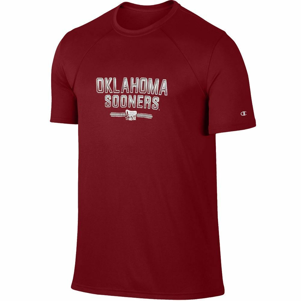 Champion NCAA Men's Oklahoma Sooners Training 2 T-Shirt