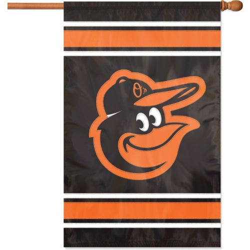 "Party Animal MLB Baltimore Orioles 28"" x 44"" House Banner Flag"