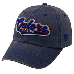 Top Of The World NCAA Men's Florida Gators Men's Park Hat Blue Adjustable