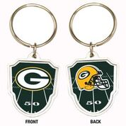 Great American Products NFL Green Bay Packers Team Logo Keychain Steel