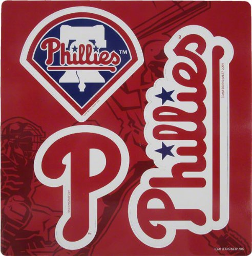 Forever Collectibles MLB Philadelphia Phillies Multi Magnet Sheet 12""