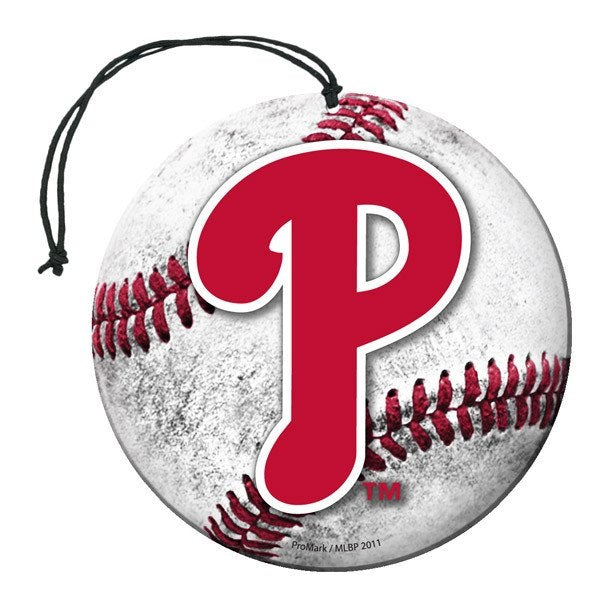 Team Promark MLB Philadelphia Phillies Air Freshener 3 Pack Nu-Car Scent