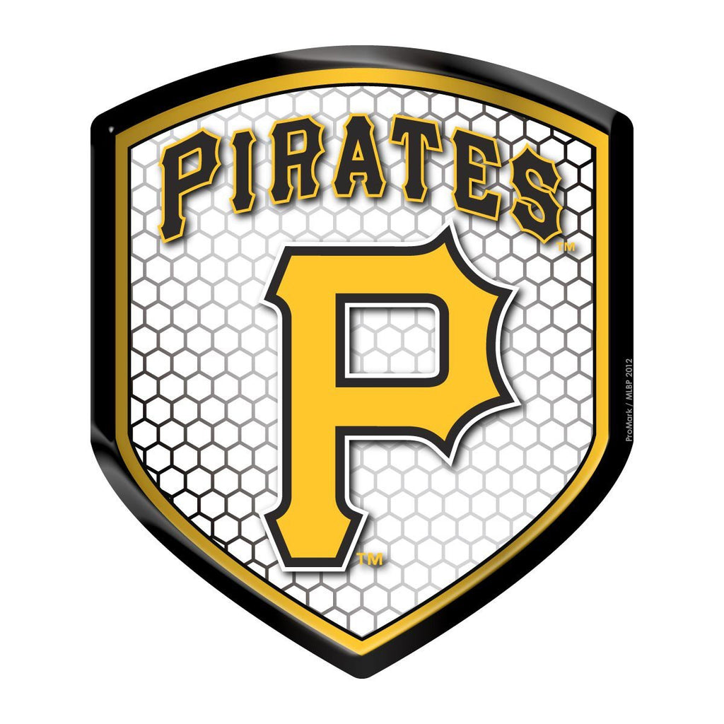 Team Promark MLB Pittsburgh Pirates Team Reflector Shield Decal