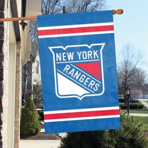 "Party Animal NHL New York Rangers House Banner Flag Blue  28"" x 44"""
