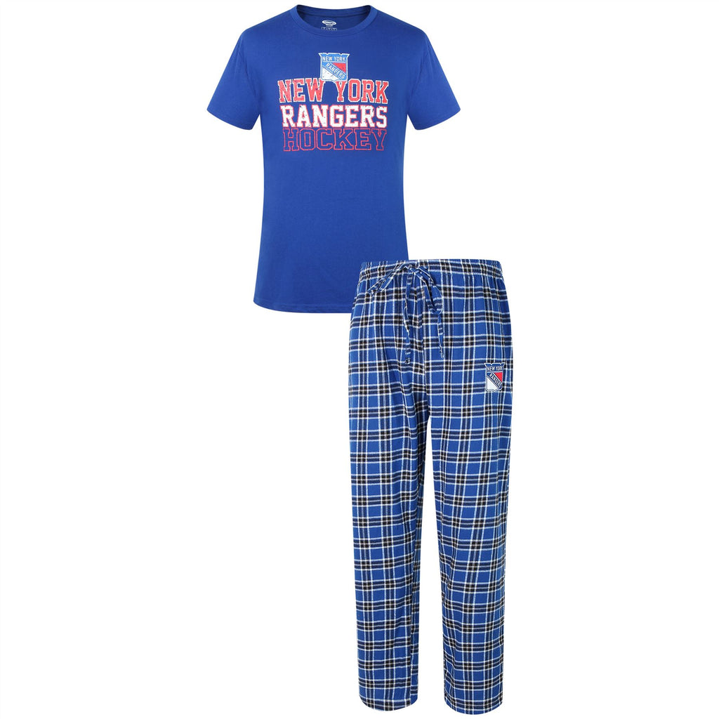 Concepts Sport NHL Men's New York Rangers Medalists Pajama Set