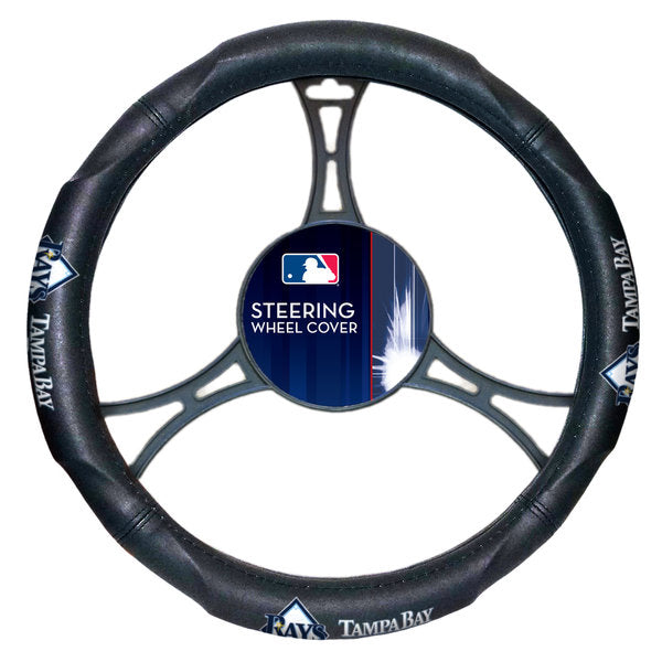 The Northwest Company MLB Tampa Bay Rays Steering Wheel Cover