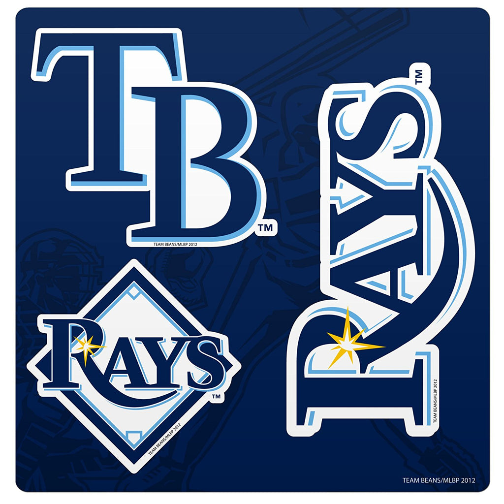 Forever Collectibles MLB Tampa Bay Rays Multi Magnet Sheet 12""