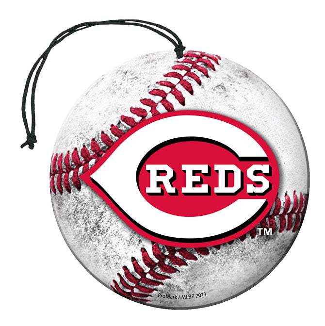 Team Promark MLB Cincinnati Reds Air Freshener 3 Pack Nu-Car Scent