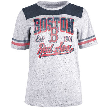 5th & Ocean MLB Women's Boston Red Sox Pepper T-Shirt