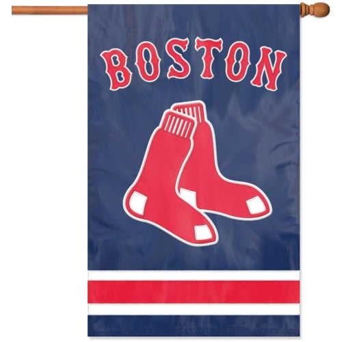 "Party Animal MLB Boston Red Sox 28"" x 44"" House Banner Flag"