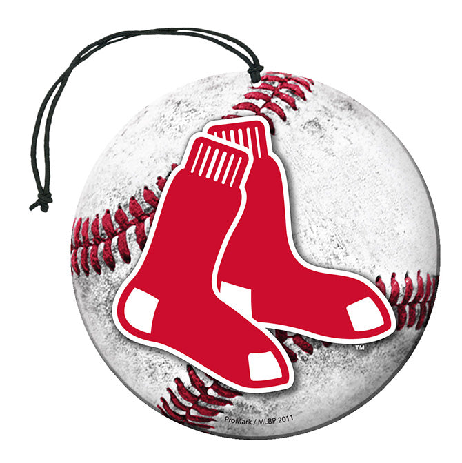 Team Promark MLB Boston Red Sox Air Freshener 3 Pack Vanilla Scent