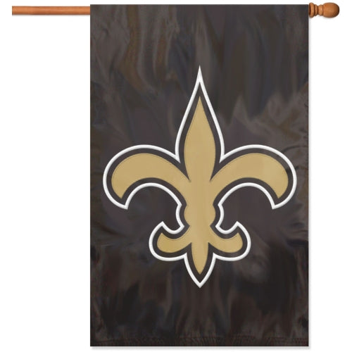 Party Animal NFL New Orleans Saints 28 x 44 House Banner Flag