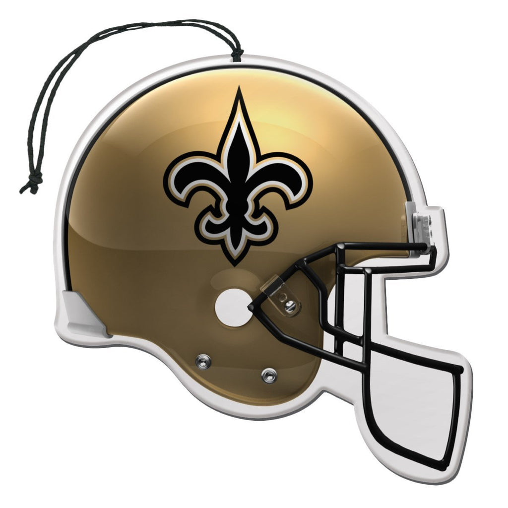 Team Promark NFL New Orleans Saints Air Freshener 3 Pack Nu-Car Scent