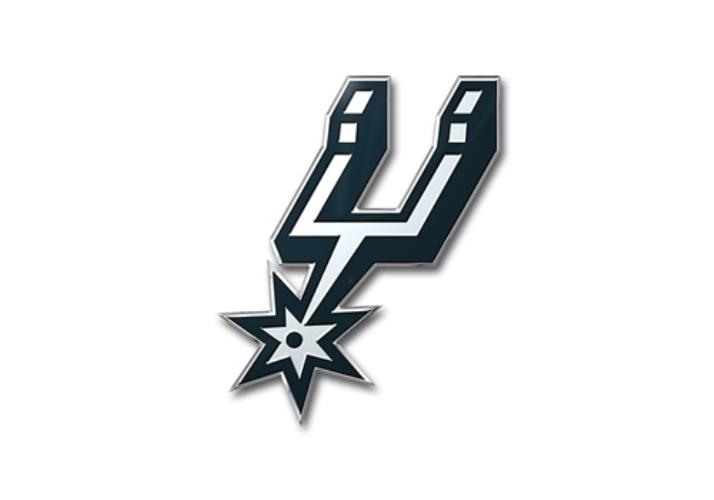 Team Promark NBA San Antonio Spurs Team Auto Emblem
