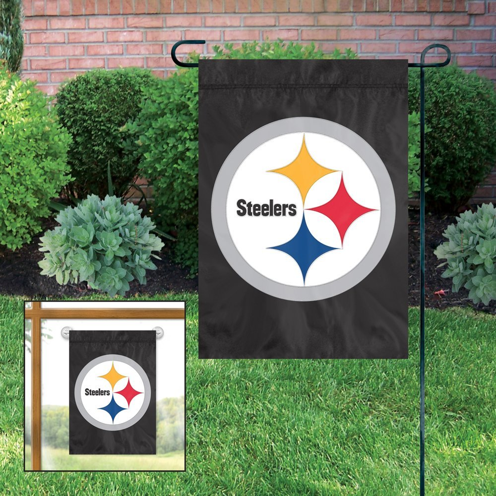 Party Animal NFL Pittsburgh Steelers Garden Flag