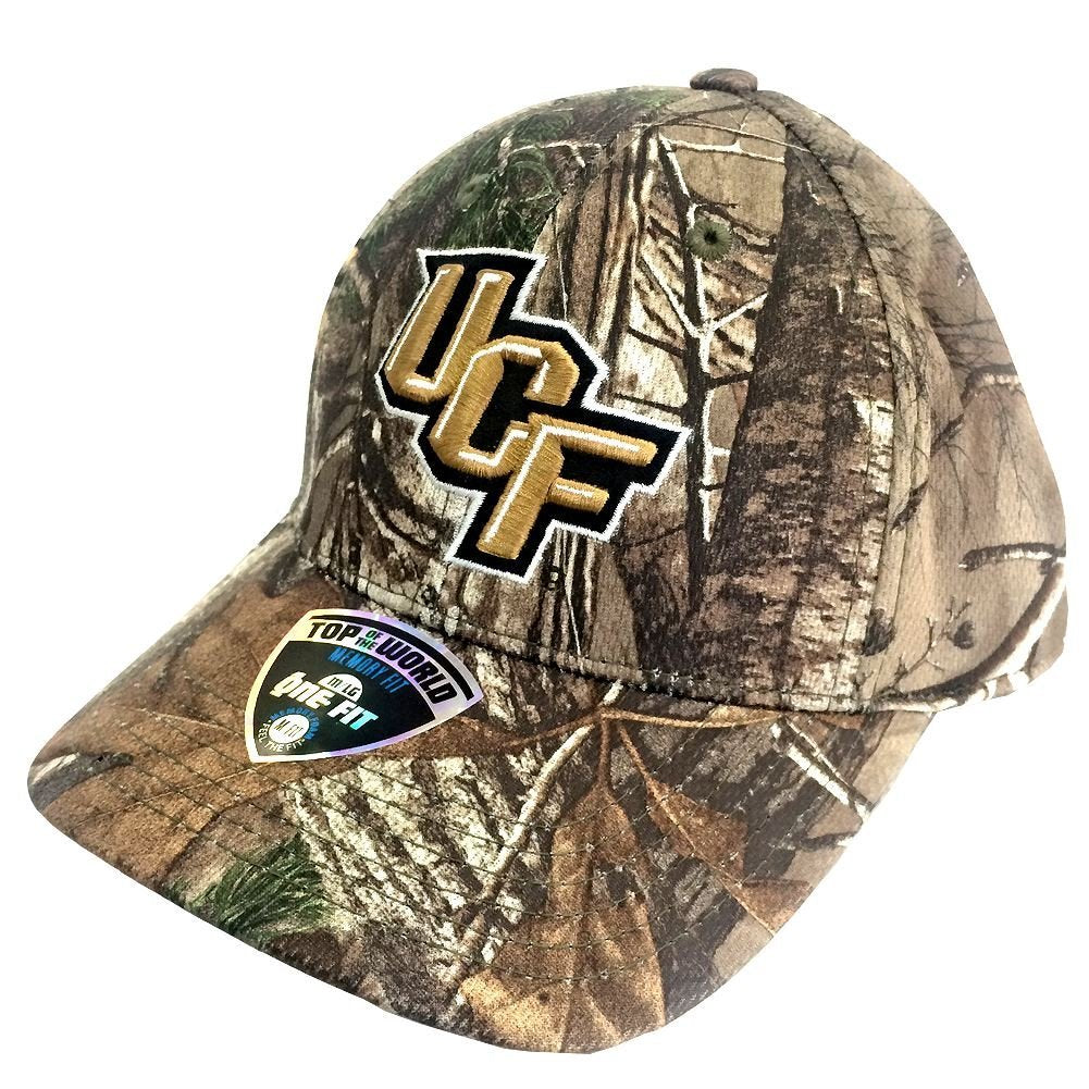 Top Of The World NCAA Men's Central Florida Knights Xtra Realtree Memory-Fit