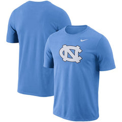 Nike NCAA Men's North Carolina Tar Heels Performance Cotton School Logo T-Shirt