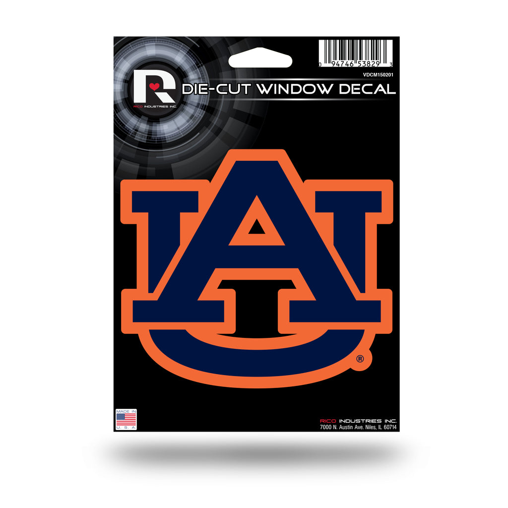 Rico NCAA Auburn Tigers Die Cut Auto Decal Car Sticker Medium VDCM