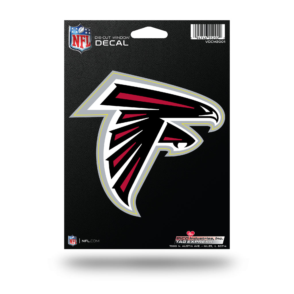Rico NFL Atlanta Falcons Die Cut Auto Decal Car Sticker Medium VDCM