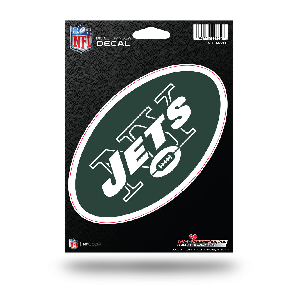 Rico NFL New York Jets Die Cut Auto Decal Car Sticker Medium VDCM