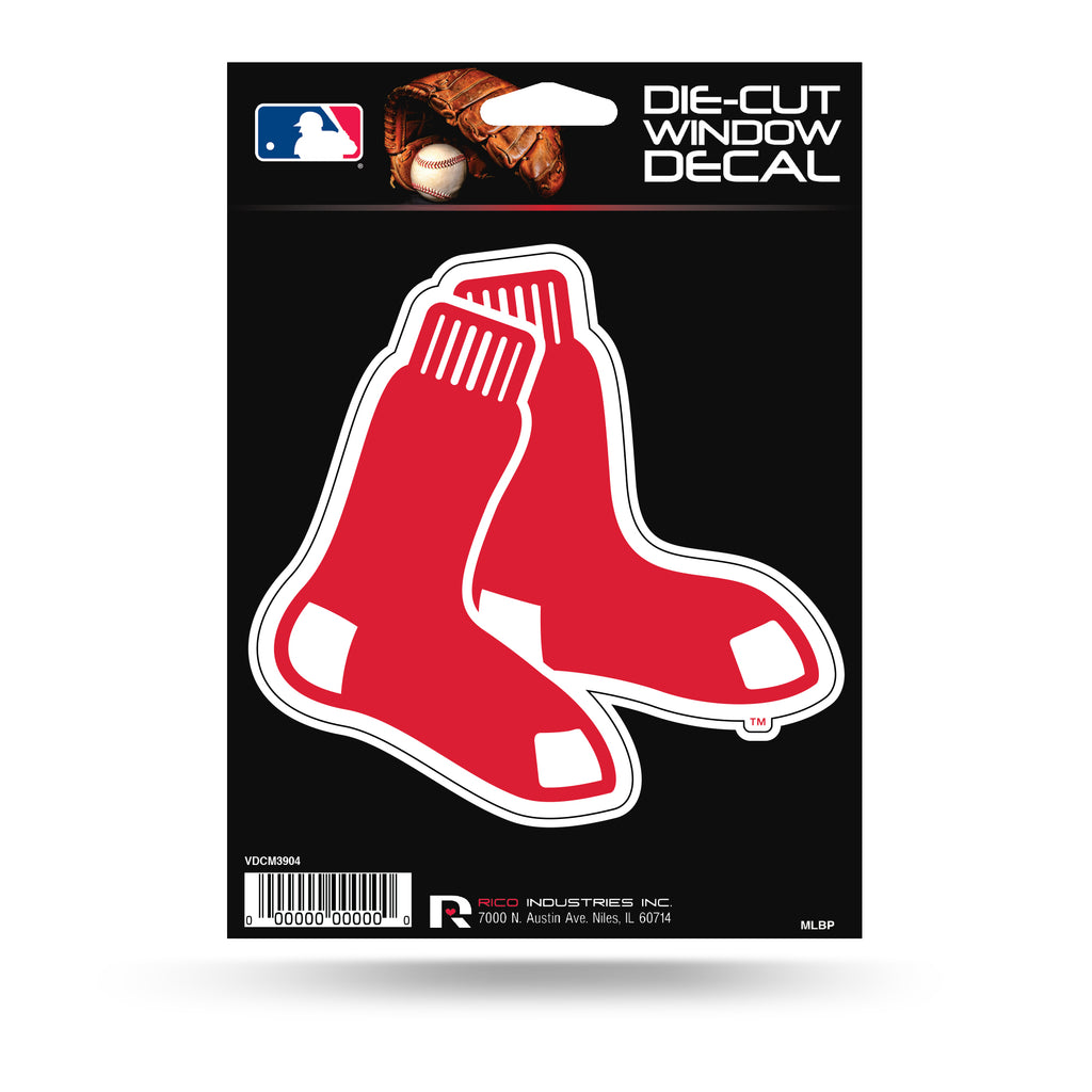 Rico MLB Boston Red Sox Die Cut Auto Decal Car Sticker Medium VDCM