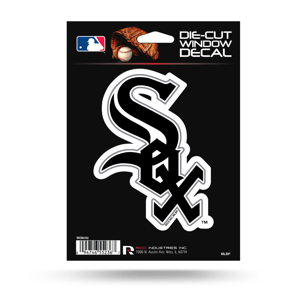 Rico MLB Chicago White Sox Die Cut Auto Decal Car Sticker Medium VDCM