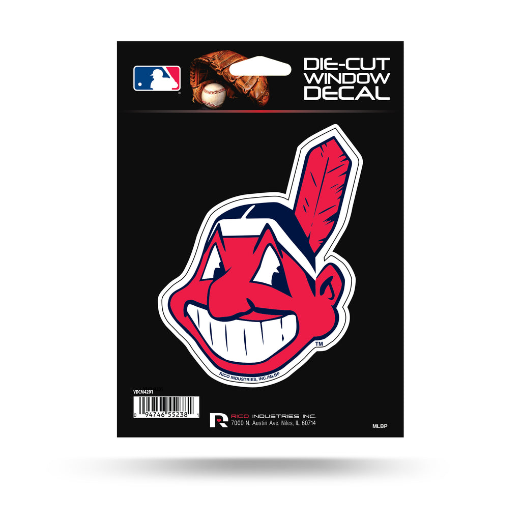 Rico MLB Cleveland Indians Die Cut Auto Decal Car Sticker Medium VDCM