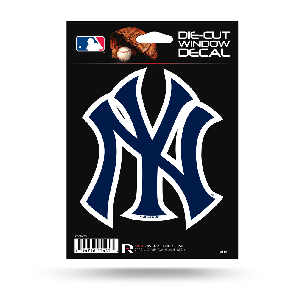 Rico MLB New York Yankees Die Cut Auto Decal Car Sticker Medium VDCM