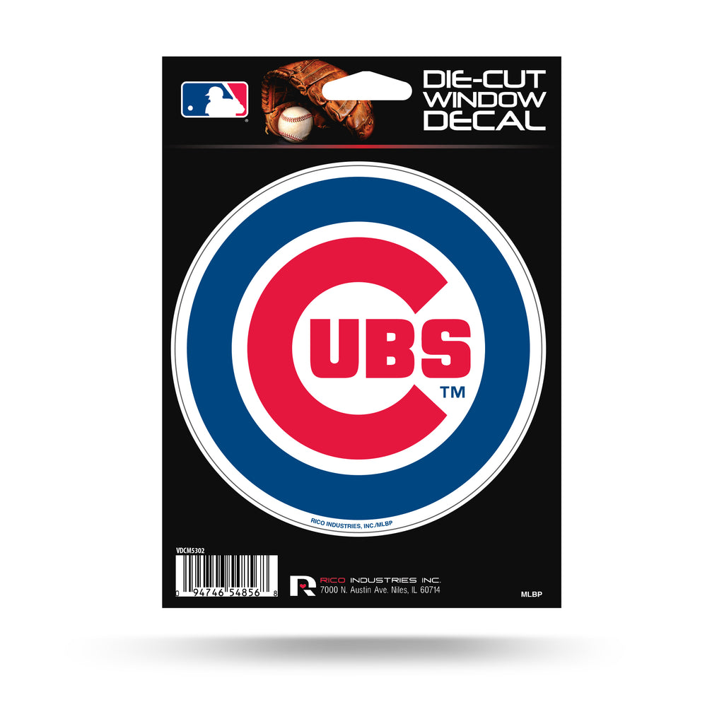 Rico MLB Chicago Cubs Die Cut Auto Decal Car Sticker Medium VDCM