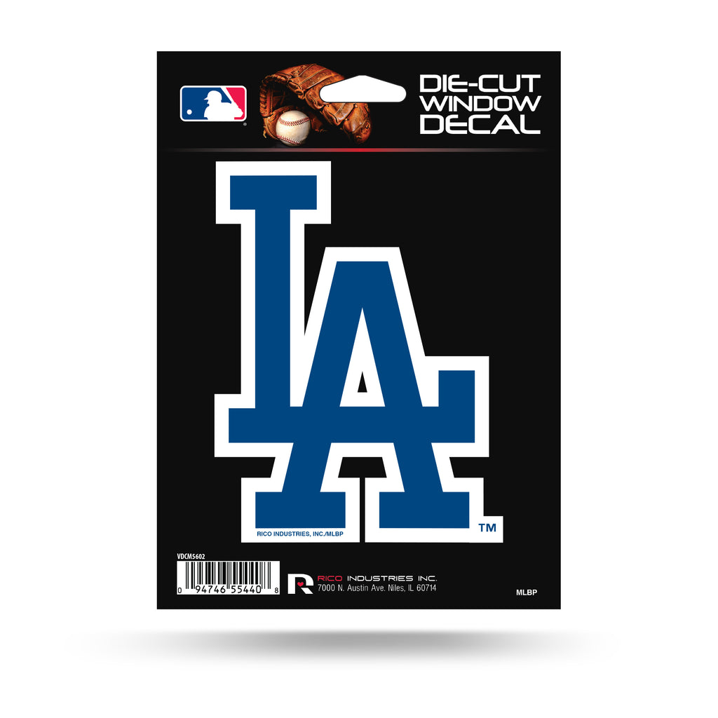 Rico MLB Los Angeles Dodgers Die Cut Auto Decal Car Sticker Medium VDCM