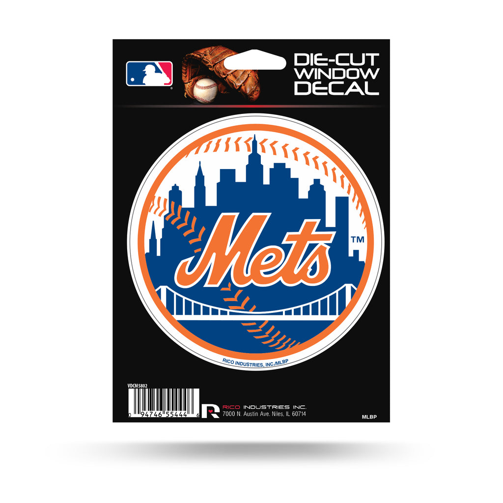 Rico MLB New York Mets Die Cut Auto Decal Car Sticker Medium VDCM