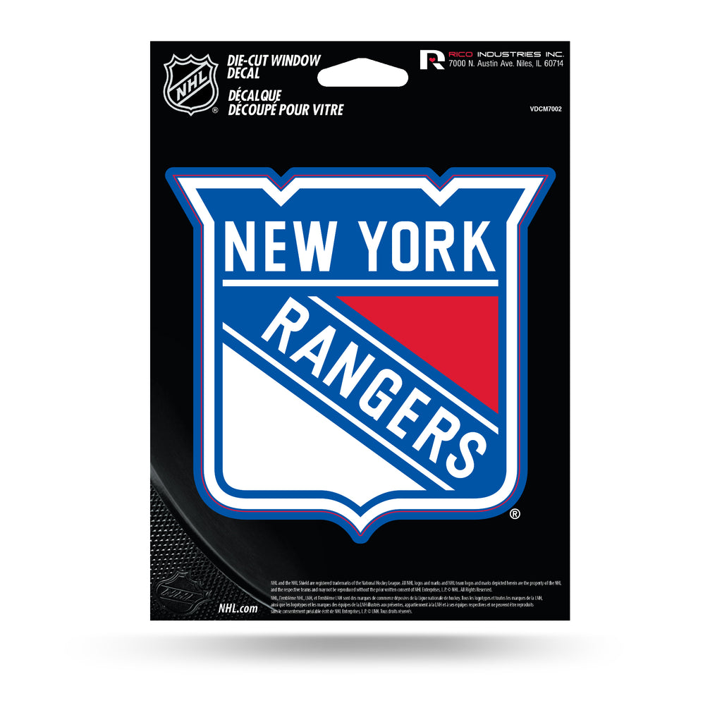 Rico NHL New York Rangers Die Cut Auto Decal Car Sticker Medium VDCM
