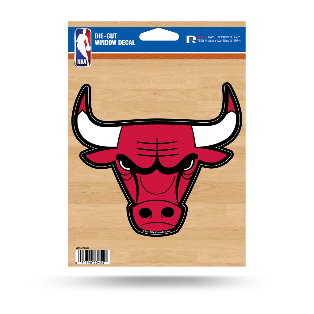 Rico NBA Chicago Bulls Die Cut Auto Decal Car Sticker Medium VDCM