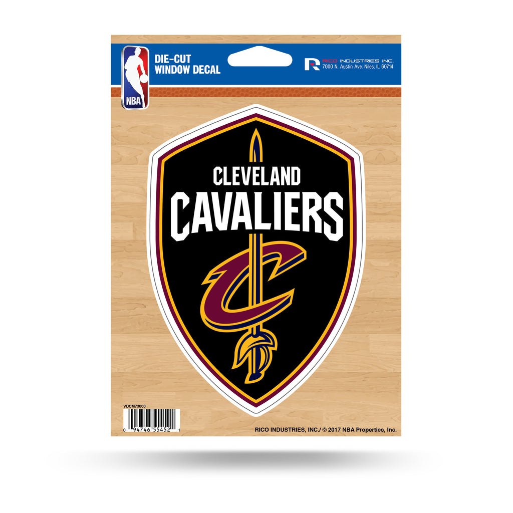 Rico NBA Cleveland Cavaliers Die Cut Auto Decal Car Sticker Medium VDCM