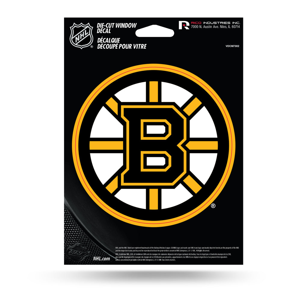 Rico NHL Boston Bruins Die Cut Auto Decal Car Sticker Medium VDCM