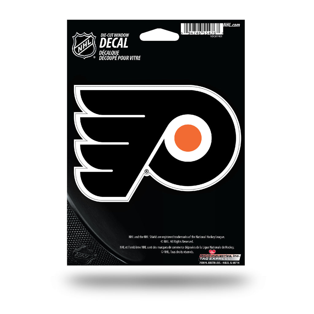 Rico NHL Philadelphia Flyers Die Cut Auto Decal Car Sticker Medium VDCM
