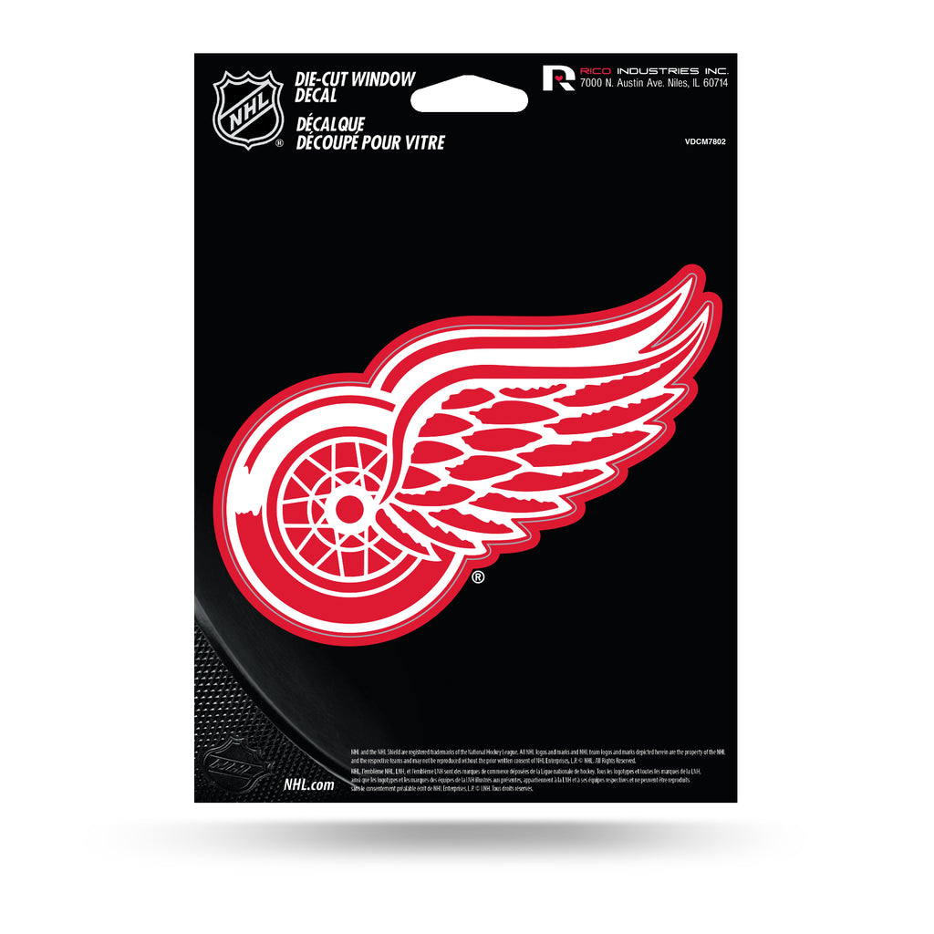 Rico NHL Detroit Red Wings Die Cut Auto Decal Car Sticker Medium VDCM