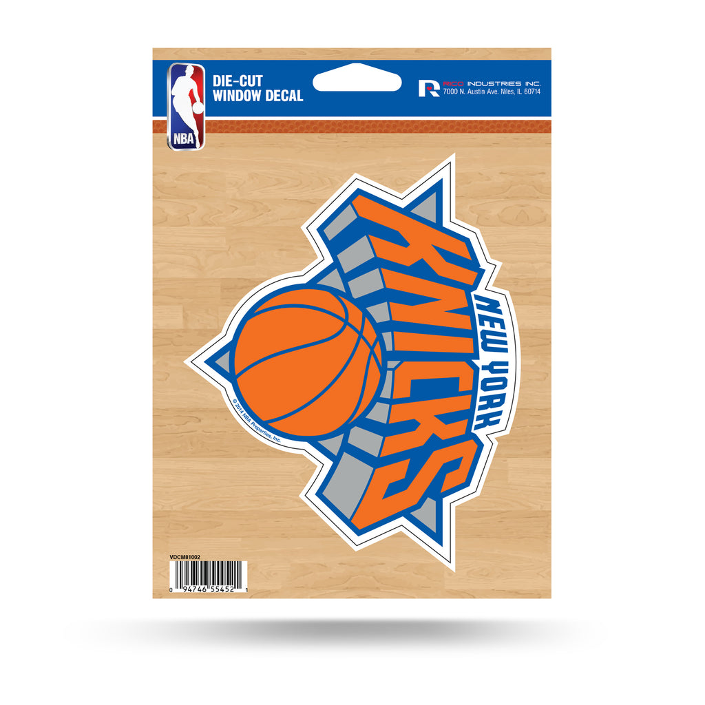 purchase cheap f0d46 92335 Rico NBA New York Knicks Die Cut Auto Decal Car Sticker Medium VDCM
