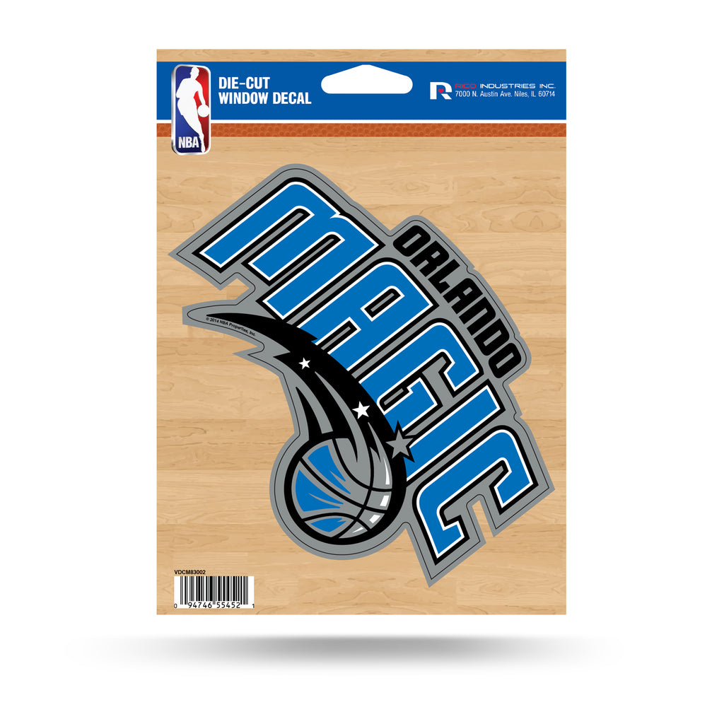 Rico NBA Orlando Magic Die Cut Auto Decal Car Sticker Medium VDCM