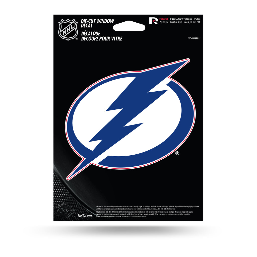 Rico NHL Tampa Bay Lightning Die Cut Auto Decal Car Sticker Medium VDCM