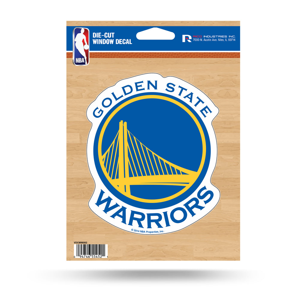 Rico NBA Golden State Warriors Die Cut Auto Decal Car Sticker Medium VDCM