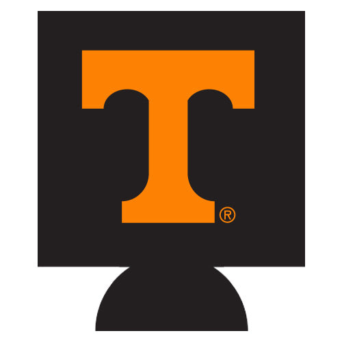 Jay Mac NCAA Tennessee Volunteers Can Koozie Black