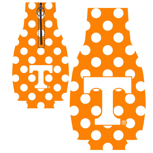 Jay Mac NCAA Tennessee Volunteers Bottle Suit Dots Orange