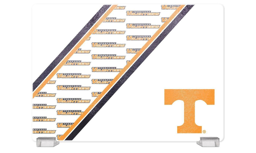 "Duckhouse NCAA Tennessee Volunteers Glass Cutting Board 14""x10"""