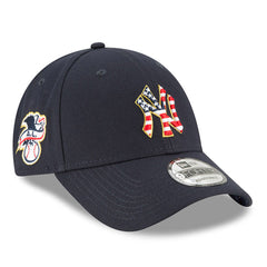 New Era MLB Men's New York Yankees Stars And Stripes 4th Of July 9FORTY Adjustable Hat