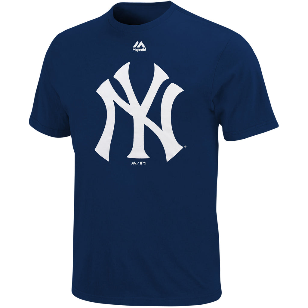 Majestic MLB Men's New York Yankees Official Logo T-Shirt