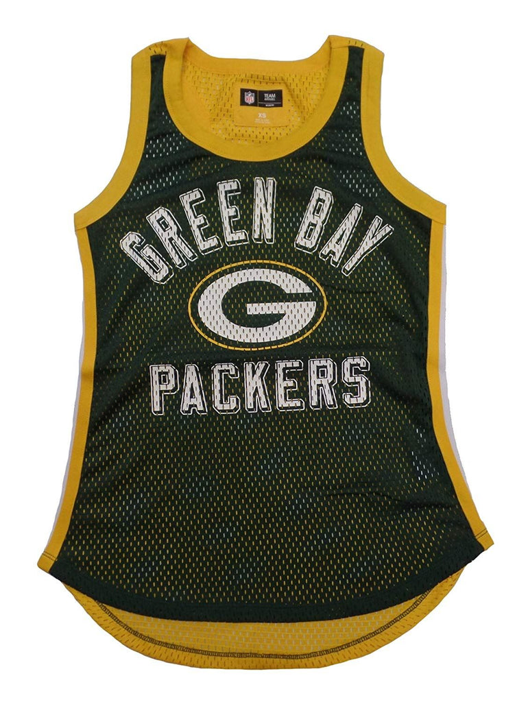 G-III NFL Women's Green Bay Packers Comeback Mesh Tank Top